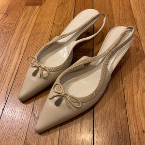 NWT Anne Klein 8.5 Heels Made in Italy